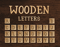 Free Wooden Letters