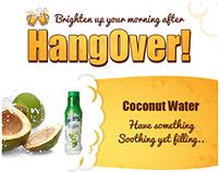 Hangover Foods Mailer
