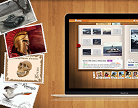 StampFrenzy Social Game, UI, UX, Graphic, Illustration