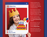 Burger King | Aniversário BK Brasil