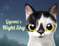 Ggomi's Night Sky Theme