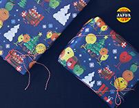 Jaffa Christmas — Gift Wrap