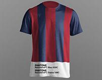 Football Club jerseys Pantone makeover