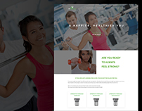 Always Strong Fitness - Redesign