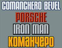 Comanchero Bevel (font)