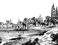 Architecture graphics | DUSSELDORF (1810)