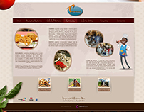 WEB DESIGN // PACIFICO RESTAURANTE
