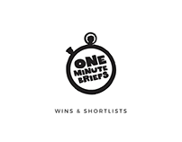 One Minute Briefs Wins & Shortlists