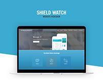 Shield Watch Website Redesign