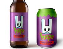 'HOPS' Carrot Flavored Ale | Fruit/Vegetable Branding