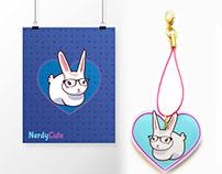 NerdyCute Icons & Art Series I