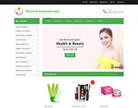 Beauty & Health Website Template