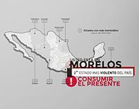 Infografía / Violencia en Morelos, México