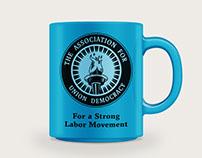 The Association for Union Democracy Logo Design