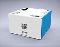 Örgün Aydınlatma - Box Mockup free