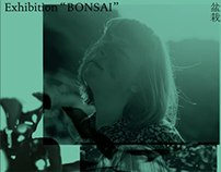 "Exhibition ""BONSAI"" / flyer / 2015"