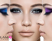 Advertising campaign for Glam makeup