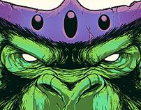 Macaco Louco (Mojo Jojo) - Scary'toons Villains