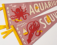 Squid & Octopus Pennants