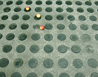 Lost fruits at a residential