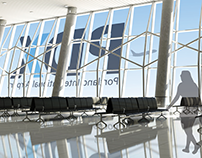 Portland Int'l Airport Logo Redesign & Wayfinding