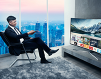 Samsung SUHD Live Rich Campaign