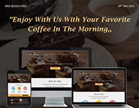 MORNING COFFEE-PSD WEB DESIGN