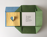Wedding gift card / Moonrise Kingdom inspired