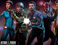 Character Art for Star Trek Timelines