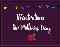 Illustrations for Mother's Day
