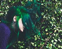 Green Self-Portrait