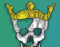 Crowned Skull