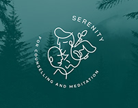 Serenity Counseling & Meditation Center Branding