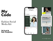 FREE FASHION INSTAGRAM POST TEMPLATES