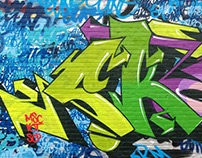 Random Graffiti work Sket185