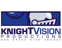 Oak Creek HS / KnightVision Productions Identity (2014)