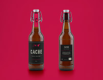 Cache | Secret bar branding & packaging