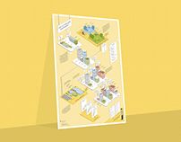 Isometric Infographic about Swiss Egg Market