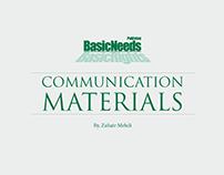 Communication Materials, BasicNeeds