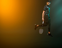 Pro Badminton Player Vilson Vattanirappel