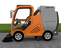 BOSS-OX / Street Sweeper Vehicle