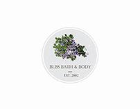 Bliss Organic Bath And Body Logo Template