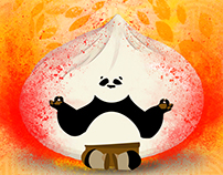 Kung Food Panda Poster