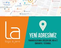 Logo Ajans Yeni Adres Tanıtım Çalışması