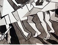 Balé Guaíra - Releitura da Guernica de Picasso