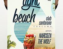 Light Beach Poster