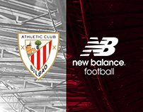 Athletic Bilbao 17 - 18 Home Kit Launch Key Art