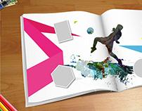 El álbum del Mundial / Dir. de Arte / Diseño