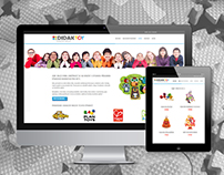 Didaktoy e-commerce website