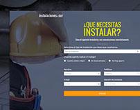 Instalaciones del Sur - Sitio Web